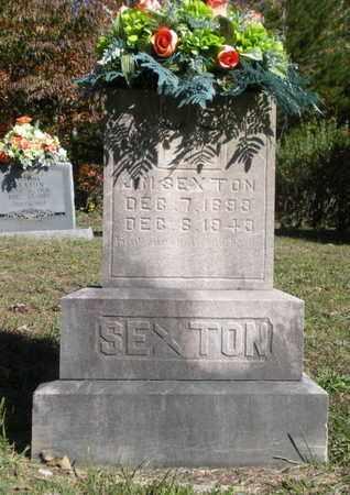 SEXTON, JAMES MOUNTVILLE - Scott County, Tennessee | JAMES MOUNTVILLE SEXTON - Tennessee Gravestone Photos