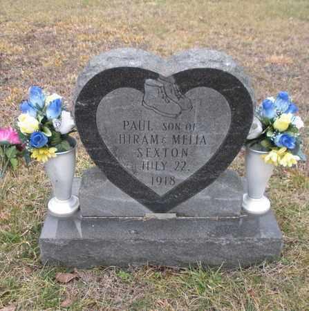 SEXTON, PAUL - Scott County, Tennessee | PAUL SEXTON - Tennessee Gravestone Photos