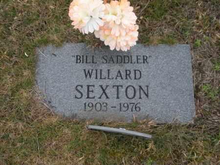 SEXTON, WILLARD - Scott County, Tennessee | WILLARD SEXTON - Tennessee Gravestone Photos
