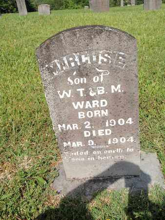 WARD, MARCOSE - Sevier County, Tennessee | MARCOSE WARD - Tennessee Gravestone Photos