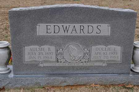 EDWARDS, DOLLIE L. - Shelby County, Tennessee | DOLLIE L. EDWARDS - Tennessee Gravestone Photos
