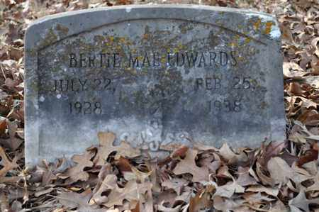 EDWARDS, BERTIE MAE - Shelby County, Tennessee | BERTIE MAE EDWARDS - Tennessee Gravestone Photos