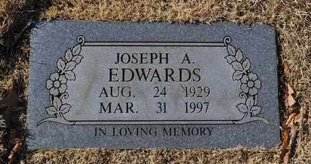 EDWARDS, JOSEPH A. - Shelby County, Tennessee | JOSEPH A. EDWARDS - Tennessee Gravestone Photos