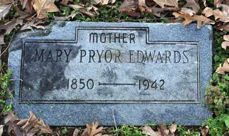 EDWARDS, MARY PRYOR - Shelby County, Tennessee | MARY PRYOR EDWARDS - Tennessee Gravestone Photos