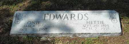EDWARDS, HETTIE - Shelby County, Tennessee | HETTIE EDWARDS - Tennessee Gravestone Photos