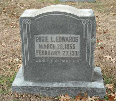 EDWARDS, SUSIE L. - Shelby County, Tennessee | SUSIE L. EDWARDS - Tennessee Gravestone Photos