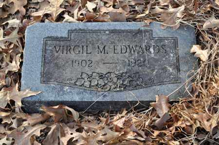 EDWARDS, VIRGIL M - Shelby County, Tennessee | VIRGIL M EDWARDS - Tennessee Gravestone Photos