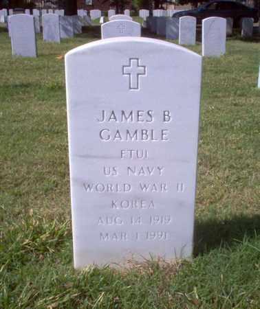 GAMBLE (VETERAN WWII KOR), JAMES BRADEN - Shelby County, Tennessee | JAMES BRADEN GAMBLE (VETERAN WWII KOR) - Tennessee Gravestone Photos
