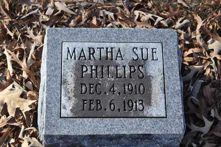 PHILLIPS, MARTHA SUE - Shelby County, Tennessee | MARTHA SUE PHILLIPS - Tennessee Gravestone Photos