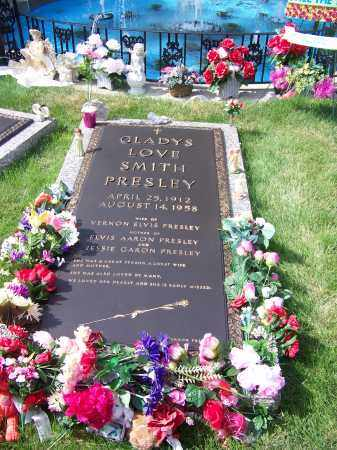 SMITH PRESLEY, GLADYS LOVE - Shelby County, Tennessee | GLADYS LOVE SMITH PRESLEY - Tennessee Gravestone Photos
