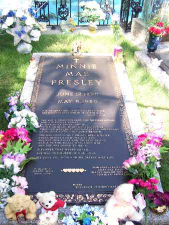 PRESLEY, MINNIE MAE - Shelby County, Tennessee | MINNIE MAE PRESLEY - Tennessee Gravestone Photos