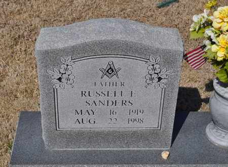 SANDERS, RUSSELL E. - Shelby County, Tennessee | RUSSELL E. SANDERS - Tennessee Gravestone Photos