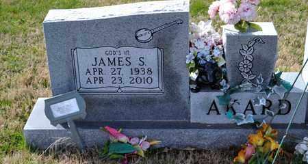 AKARD, JAMES S - Sullivan County, Tennessee   JAMES S AKARD - Tennessee Gravestone Photos