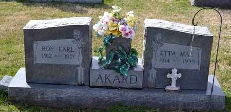 AKARD, ROY EARL - Sullivan County, Tennessee | ROY EARL AKARD - Tennessee Gravestone Photos