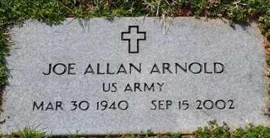 ARNOLD (VETERAN), JOE ALLAN - Sullivan County, Tennessee | JOE ALLAN ARNOLD (VETERAN) - Tennessee Gravestone Photos