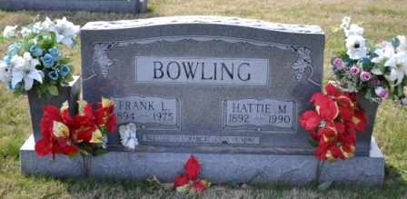 BOWLING, FRANK L - Sullivan County, Tennessee | FRANK L BOWLING - Tennessee Gravestone Photos