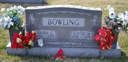 BOWLING, HATTIE M - Sullivan County, Tennessee | HATTIE M BOWLING - Tennessee Gravestone Photos