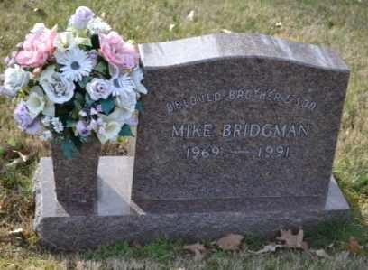 BRIDGMAN, MIKE - Sullivan County, Tennessee   MIKE BRIDGMAN - Tennessee Gravestone Photos