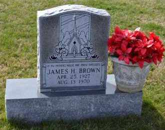 BROWN, JAMES H - Sullivan County, Tennessee | JAMES H BROWN - Tennessee Gravestone Photos