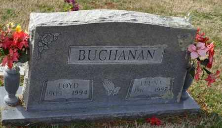 BUCHANAN, LEUNA - Sullivan County, Tennessee | LEUNA BUCHANAN - Tennessee Gravestone Photos
