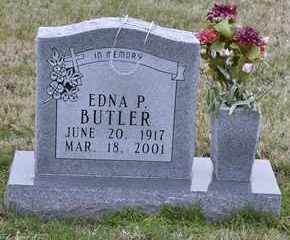 BUTLER, EDNA P - Sullivan County, Tennessee   EDNA P BUTLER - Tennessee Gravestone Photos