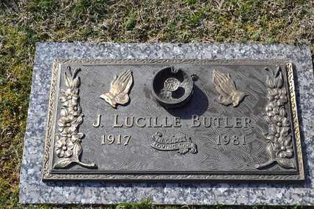 BUTLER, J LUCILLE - Sullivan County, Tennessee | J LUCILLE BUTLER - Tennessee Gravestone Photos