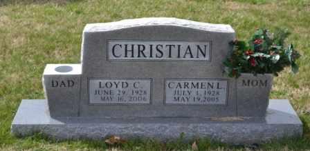 CHRISTIAN, LOYD CARLOS - Sullivan County, Tennessee | LOYD CARLOS CHRISTIAN - Tennessee Gravestone Photos