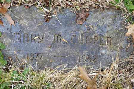 COOPER, MARY M - Sullivan County, Tennessee | MARY M COOPER - Tennessee Gravestone Photos