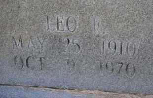 COX, LEO F (CLOSE UP) - Sullivan County, Tennessee | LEO F (CLOSE UP) COX - Tennessee Gravestone Photos
