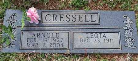 CRESSELL, ARNOLD - Sullivan County, Tennessee | ARNOLD CRESSELL - Tennessee Gravestone Photos