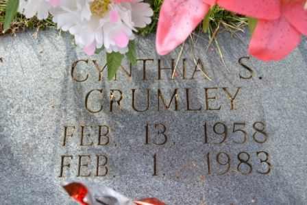 CRUMLEY, CYNTHIA S - Sullivan County, Tennessee | CYNTHIA S CRUMLEY - Tennessee Gravestone Photos