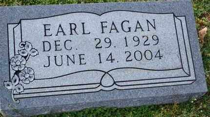 FAGAN, EARL - Sullivan County, Tennessee | EARL FAGAN - Tennessee Gravestone Photos