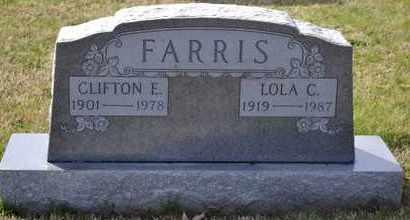 FARRIS, CLIFTON E - Sullivan County, Tennessee   CLIFTON E FARRIS - Tennessee Gravestone Photos