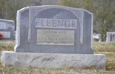 FLEENOR, BERTHA KATE - Sullivan County, Tennessee | BERTHA KATE FLEENOR - Tennessee Gravestone Photos