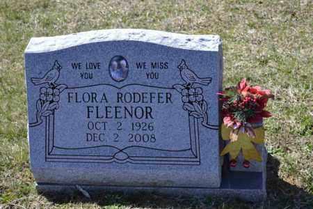 FLEENOR, FLORA - Sullivan County, Tennessee | FLORA FLEENOR - Tennessee Gravestone Photos