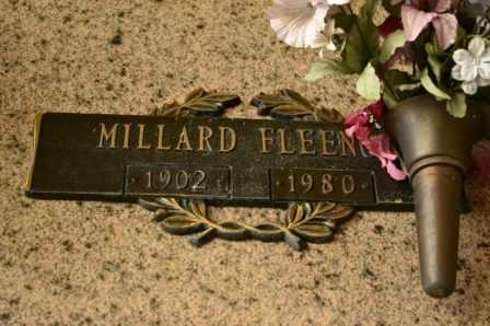FLEENOR, MILLARD - Sullivan County, Tennessee | MILLARD FLEENOR - Tennessee Gravestone Photos