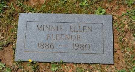 FLEENOR, MINNIE ELLEN - Sullivan County, Tennessee | MINNIE ELLEN FLEENOR - Tennessee Gravestone Photos