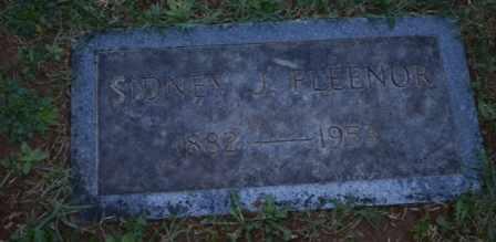 FLEENOR, SIDNEY J - Sullivan County, Tennessee | SIDNEY J FLEENOR - Tennessee Gravestone Photos