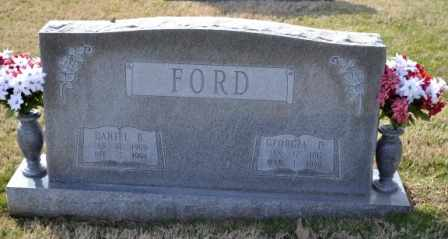 FORD, DANIEL B - Sullivan County, Tennessee | DANIEL B FORD - Tennessee Gravestone Photos