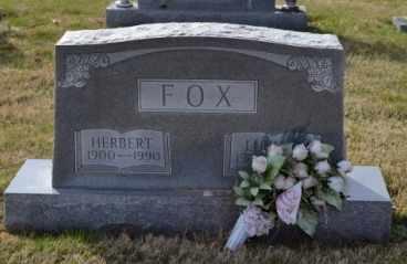 FOX, HERBERT - Sullivan County, Tennessee | HERBERT FOX - Tennessee Gravestone Photos