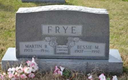 FRYE, BESSIE M - Sullivan County, Tennessee | BESSIE M FRYE - Tennessee Gravestone Photos