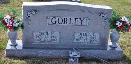 BISHOP GORLEY, DELILA LEE - Sullivan County, Tennessee | DELILA LEE BISHOP GORLEY - Tennessee Gravestone Photos