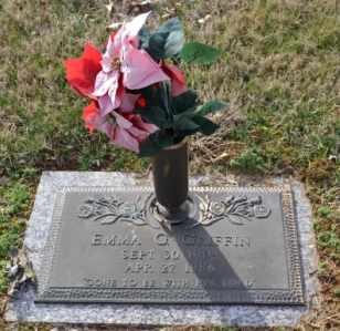 GRIFFIN, EMMA G - Sullivan County, Tennessee | EMMA G GRIFFIN - Tennessee Gravestone Photos