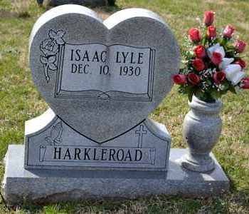 HARKLEROAD, ISSAC LYLE - Sullivan County, Tennessee | ISSAC LYLE HARKLEROAD - Tennessee Gravestone Photos