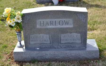 HARLOW, LUTHER L - Sullivan County, Tennessee | LUTHER L HARLOW - Tennessee Gravestone Photos