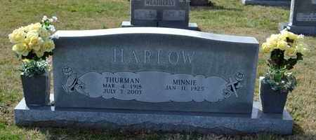 HARLOW, THURMAN - Sullivan County, Tennessee | THURMAN HARLOW - Tennessee Gravestone Photos