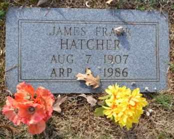 HATCHER, JAMES FRANK - Sullivan County, Tennessee | JAMES FRANK HATCHER - Tennessee Gravestone Photos