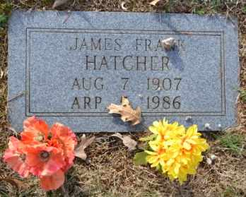 HATCHER, JAMES FRANK - Sullivan County, Tennessee   JAMES FRANK HATCHER - Tennessee Gravestone Photos