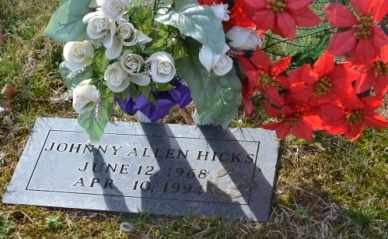 HICKS, JOHNNY ALLEN - Sullivan County, Tennessee   JOHNNY ALLEN HICKS - Tennessee Gravestone Photos