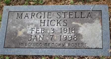HICKS, MARGIE STELLA - Sullivan County, Tennessee | MARGIE STELLA HICKS - Tennessee Gravestone Photos